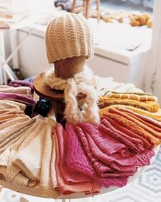 Image result for knitting display ideas