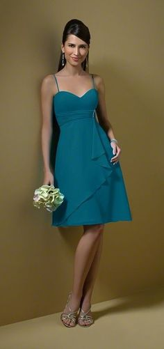 Alfred Angelo  STYLE 7045 BRIDESMAID DRESS - Tealness