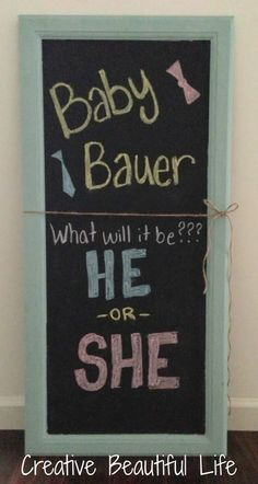 Great Gender Reveal Party :)