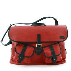 Red Postman Bag