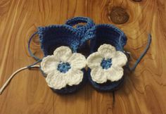 Not quite finished but already adorable.   #baby #babygirl #flowers #babies #babystyle #babyfashion #babytrends #babyfeet #firstshoes #spring #newborn #summer #newbornbaby #mama #pregnancy #flowershoes #blue #adorable #cute #etsy #crochet #sandals #shoes #babysandals
