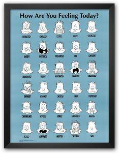"""Art.com """"How Are You Feeling Today?"""" Framed Art Print by Jim Borgman    <>  @kimludcom"""