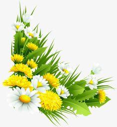 "Photo from album ""Трава, цветы"" on Yandex. Banner Background Images, Poster Background Design, Flower Frame, Flower Art, Easter Flower Arrangements, Boarder Designs, Happy Birthday Wallpaper, Apple Prints, Mosaic Wall Art"