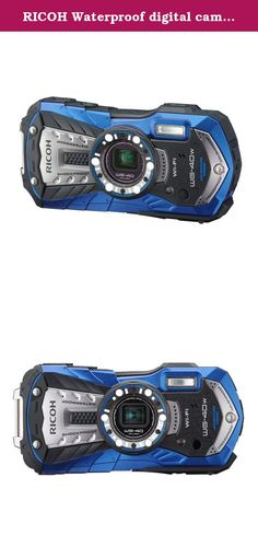 RICOH Waterproof digital camera RICOH WG-40 Blue waterproof 14m Withstand shock 1.6m Cold -10 degrees RICOH WG-40W BL 04693. Product introduction ◆ waterproof performance that enables underwater shooting at a depth of 14m approaching high-end models, and to realize the drop impact performance from the height 1.6m, and further provided with a cold structure of up to minus 10 ℃, under outdoor environment We are increasing the ease and reliability of use. ◆ effective number of pixels is…