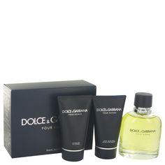 Dolce & Gabbana Gift Set - 4.2 Eau De Toilette Spray + 1.7 oz After Shave Balm + 1.7 oz Shower Gel