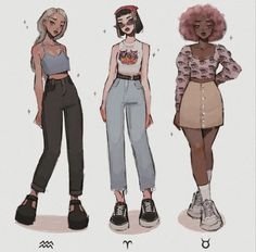 Fashion Design Drawings, Fashion Sketches, Character Design Inspiration, Mode Inspiration, Aesthetic Art, Aesthetic Clothes, Drawing Anime Clothes, Manga Drawing, Drawing Tips
