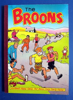 The Broons Annual Book 1987  Scotland s Happy Family!