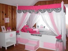canopy-beds-for-little-girls