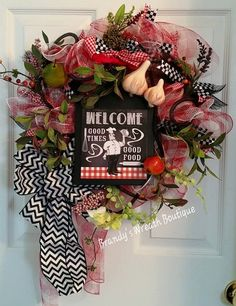 Hey, I found this really awesome Etsy listing at https://www.etsy.com/listing/236721271/iron-chef-welcome-wreath