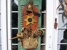 Fall Halloween Lawn Decorations, Halloween Wood Crafts, Harvest Decorations, Fall Halloween, Primitive Wood Signs, Primitive Crafts, Primitive Pumpkin, Rustic Fall Decor, Fall Home Decor