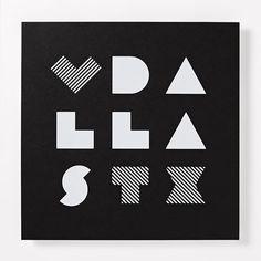 Lovewell Handmade Print, Love Dallas, 12