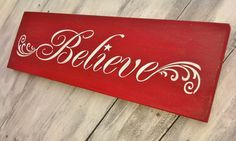 Believe Signs Decor Adorable Believe Christmas Rustic Sign  Distressed Wooden Sign  Christmas Review