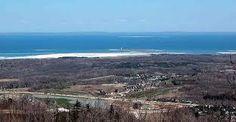 ~ Georgian Bay View ~ Meaford ~ Thornbury ~ Collingwood ~ Wasaga Beach ~ From The Top Of The Niagara Escarpment, Town Of Blue Mountains, Ontario ~ lwy