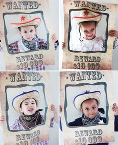 Samedi dernier, nous fêtions ENFIN les 3 ans de mon grand Nathou d'amour!   Enfin, il était l'heure de sa super cowboy party qui le faisait...