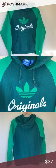 Vintage Adidas Originals Color Block Hoodie 💎 Perfect throw back condition.  Vintage sweater with no flaws. Small signs of vintage wear.   ⚖ Reasonable Offers Considered through offer button.  ⚜Top Seller. No Trades.  📬 Quick Shipping.        💰Bundle for Discount. Adidas Tops Sweatshirts & Hoodies
