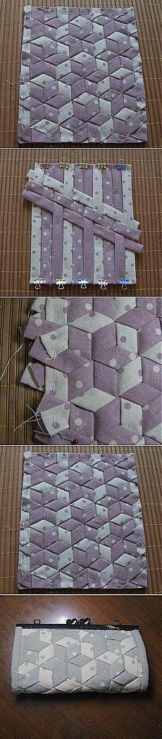 Лоскутное шитьё - очень легкий принцип