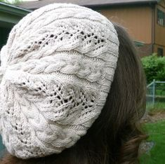 Free slouch hat pattern, very pretty!