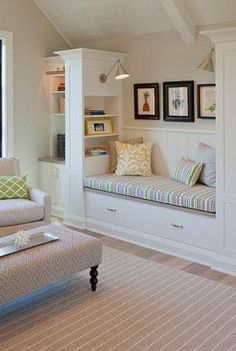 "Love the ""window seat"" feel without the window!"