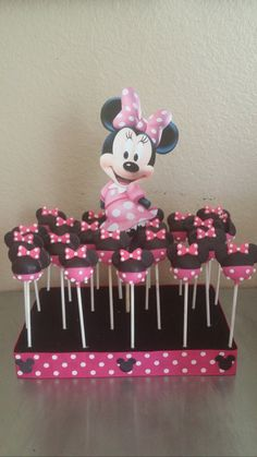 Minnie mouse cake, Mouse cake and Minnie mouse on Pinterest