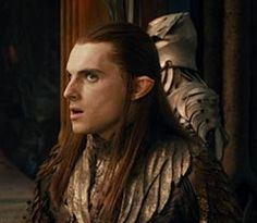 The Hobbit - The Desolation of Smaug. Robin Kerr as Elros the Guard, Master of the keys. An Elf of Mirkwood.
