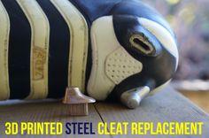 3D printing with metal - Replacing a cleat stud - Design Scroggin
