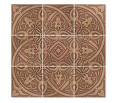 Bronze Byzantine style pattern
