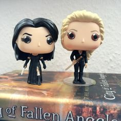 Isabelle Lightwood and Emma-Carstairs Funko Pop