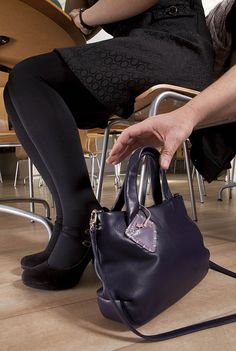 Its very easy to take your purse when your not looking, Secure it and be aware.