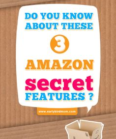 Three secret Amazon Prime features that you might not know about. Make the most of shopping on Amazon with these easy tips to save you time and money.