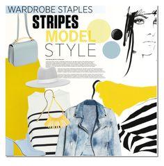 """Stripes"" by anna-anica ❤ liked on Polyvore featuring J.Crew, Marni, Cardigan, Janessa Leone, MANGO, Dorateymur, Deborah Lippmann, WardrobeStaple, Spring and stripes"