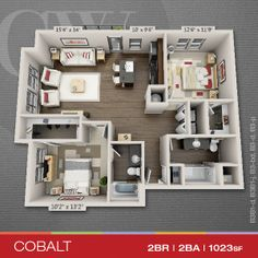 Wonderful Floor Plans Of 1, 2 U0026 3 Bedroom Apartments In Indianapolis, IN | The
