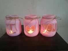 Diy  Zelf gemaakte kaarsenglaasjes voor moederdag