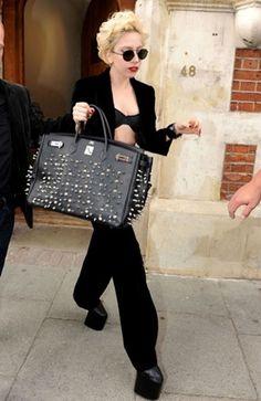 Hermès customizada por Lady Gaga