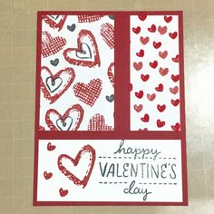 A step by step tutorial on how to make handmade cards for Valentine's Day.