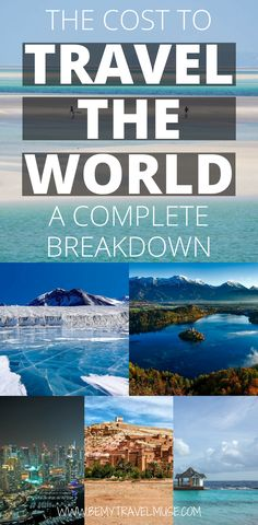 Want to travel the world? Here's a comprehensive budget guide to EVERYWHERE in the world - the Americas, Europe, Asia, Africa, Oceania, Middle East, and even Antartica.