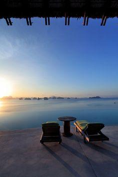 Hilltop Reserve Pool at Six Senses Yao Noi, Thailand…