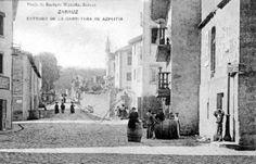 Entrada desde Azpeitia. Hoy en día San Inazio kalea. A la derecha antiguo edificio de la Misericordia de Santa Ana