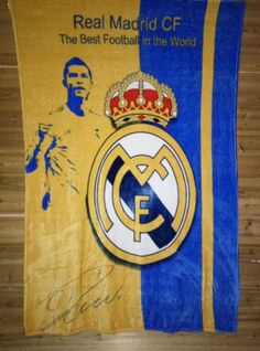 C ROM Real Madrid Football Club Badge of blanket multi functional bedding high q