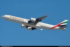 Airbus A340-541 A6-ERB 471 Dubai Int'l - OMDB
