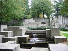 Lawrence Halprin Legacy: Freeway Park, Seattle, WA. Photo by Charles Birnbaum