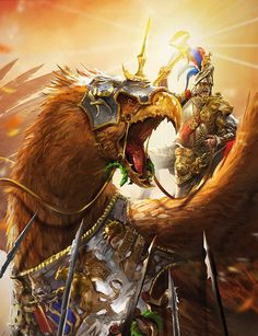 The secrets of creating epic Warhammer artwork