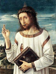 Andrea Mantegna, Christ Blessing, 1459   Flickr - Photo Sharing!