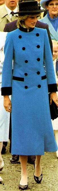 June 25, 1983: Princess Diana on a walkabout in the seaport of Carbonear, Newfoundland. (Day 12)