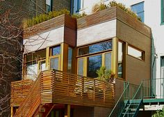 Architect TimSeggerman designs the extension of this brownstone - Nordic and Japanese aesthetics