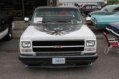 1980 GMC pickup/ Indy 500 service truck