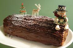 Chocolate Hazelnut Yule Log by Laura Rainbow Dragon