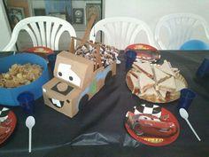 Decoración cumpleaños Cars Disney de mi pequeño Noah