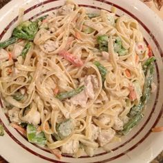 Italian & Herb Cream Cheese Sauce.  I made this for my family for dinner last night, they really loved it!