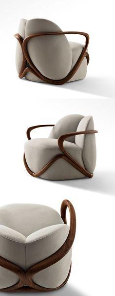 Rossella Pugliatti Hug Armchair | Contemporary design that will certainly inspire you | www.pinterest.com/ #inspirationideas #interiordesign #furniture #interiordesigninspiration