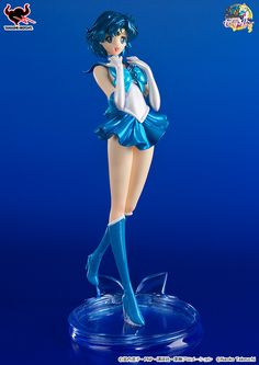 The Sailor Moon Crystal Sailor Mercury Figuarts ZERO figure is finally available for preorder! Retail price is 5,400 yen, release date is March 2016.